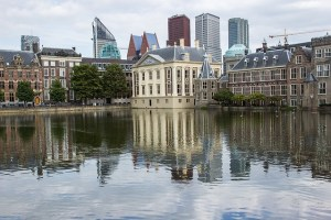 The Hague Reflection Buildings Netherlands