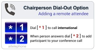 Dial-Out Option