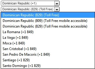 Dominican Republic Virtual Number
