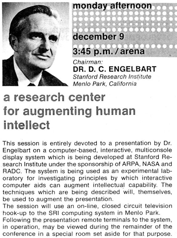 Doug Englebart - Inventor of the First Two-Way Video Conference