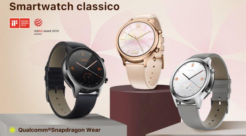 Smartwatch Ticwatch classico C2 con Wear OS – AiTeq