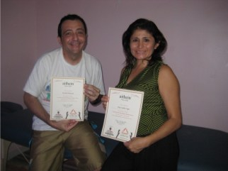 Ayurveda Massage Course India - Michel, Elsa