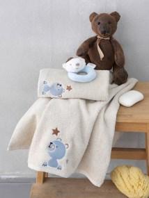 Παιδικές Πετσέτες (Σετ 2 Τμχ) Palamaiki Bear