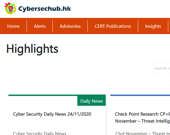 CyberSec Infohub