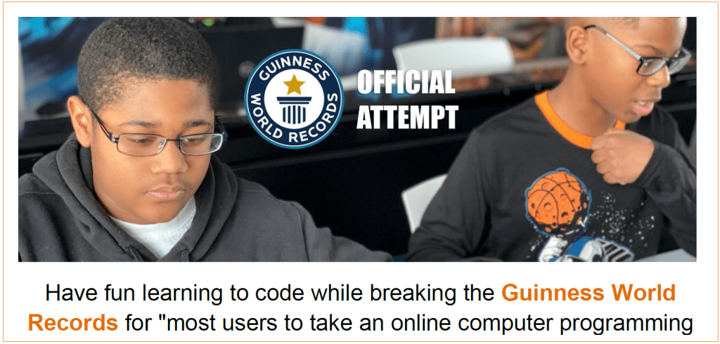 2020-12-05 – Guinness World Records_Coding Opportunity – Thumbnail