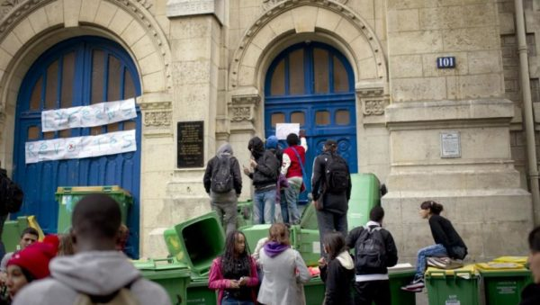 Франция, протесты