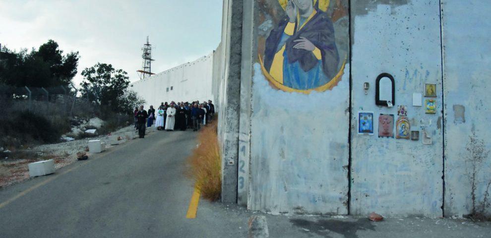 suor lucia suore betlemme rosario muro palestina israele
