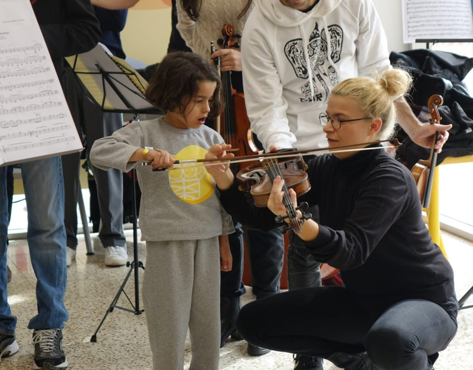 young european musican orchestra paolo olmi caritas baby hospital 2019