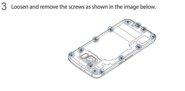 The Samsung Galaxy S6 battery can be replaced according to