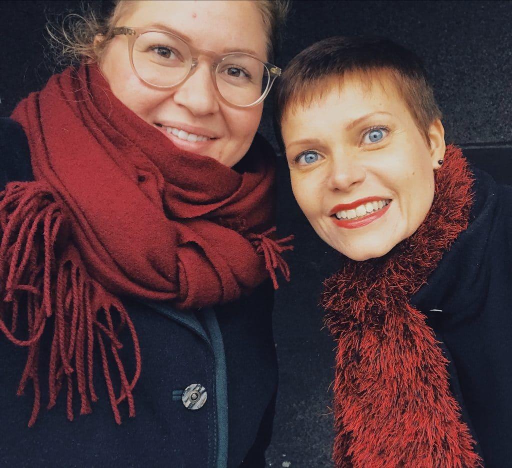 Aino Pajukangas Luovia-podcastin haastattelussa
