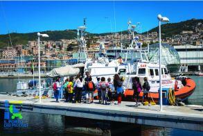 Children Group Visiting the port of Genoa - Il Porto dei Piccoli
