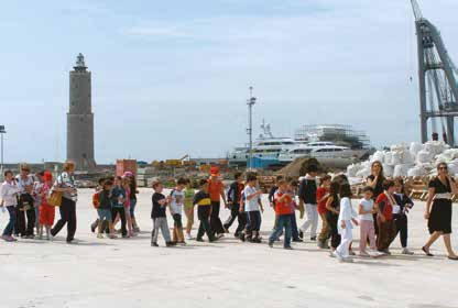 Children Visiting the port of Livorno - Assoporti