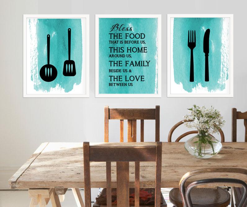 printable art for kitchen, kitchen decor idea ID02