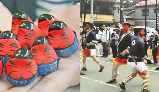 【ファン必見】会津まつり藩公行列で人気の「奴隊」が起き上がり小法師に!購入するには?!