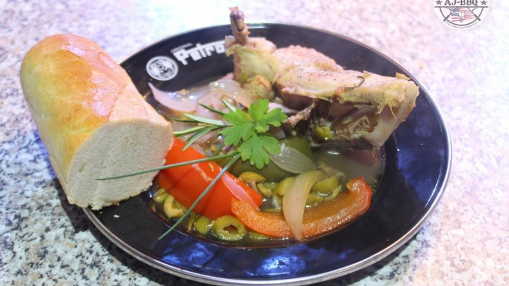 Besoffenes Huhn aus dem Dutch Oven