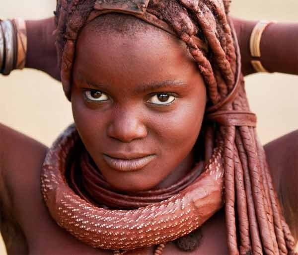 Himba Tribe Woman Facts in Hindi, Amazing Facts, Namibia, South africa,
