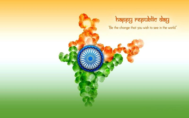 Indian Flag Wallpaper With Quotes In Hindi Republic Day Whatsapp Dp Facebook Dp Images Pictures