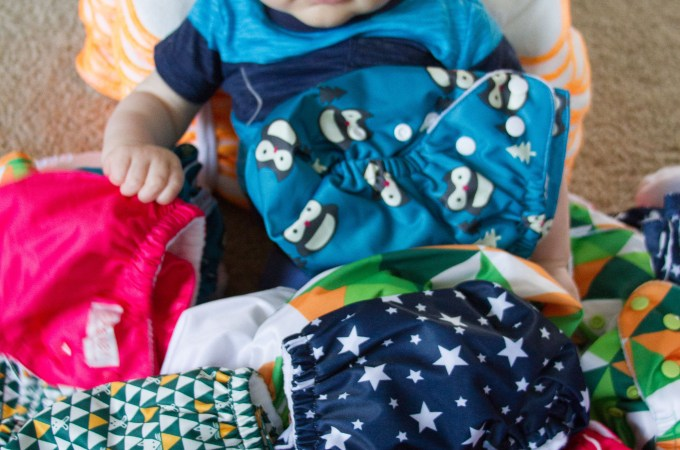 Dabbling in Potty Training and Committing to Cloth Diapers
