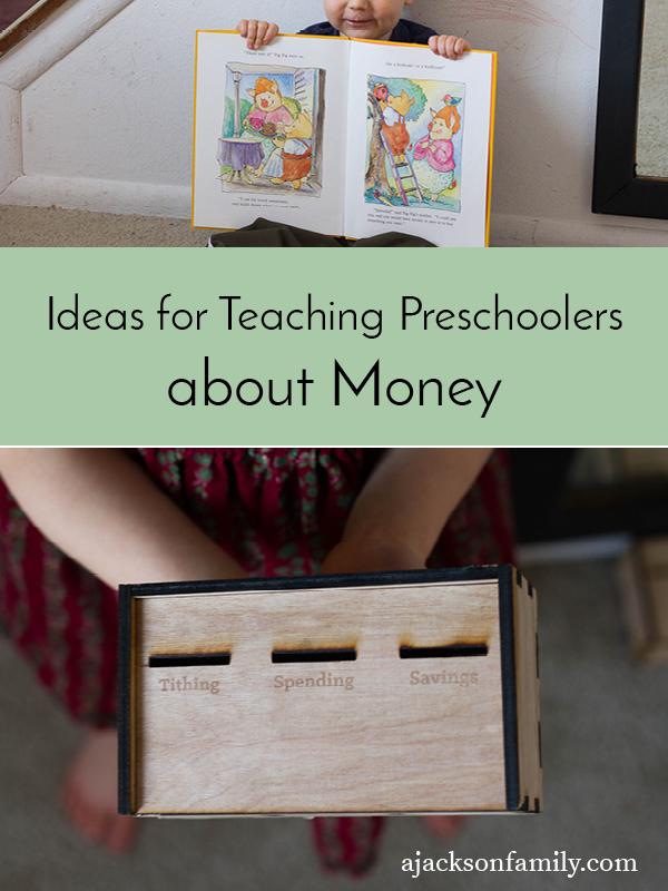 preschooler money