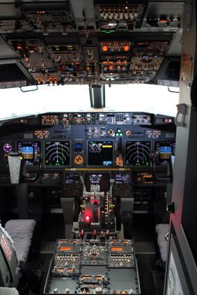 cabine de aviao