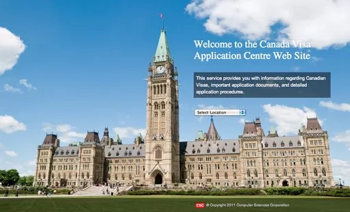 Csc vac visa canada