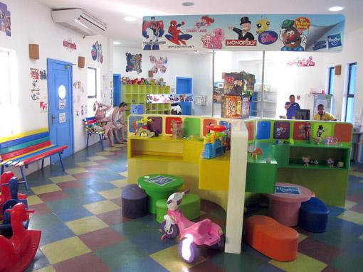 Brinquedos da área infantil do Iberostar praia do forte