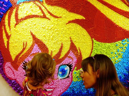Polly Pocket mosaico