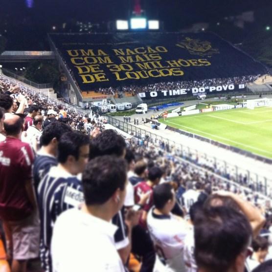 Gavioes torcida do Corinthians