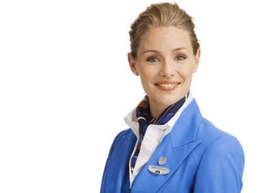 Comissária KLM