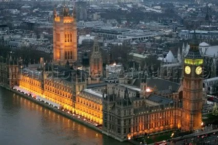 Londres Inglaterra Parlamento Big Ben