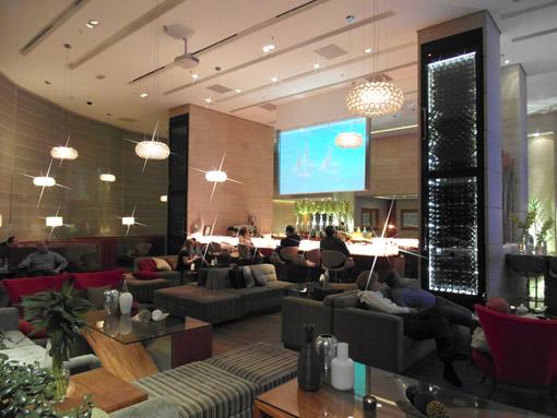 Bar do Lobby do hotel Renaissance