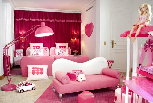 Suite da Barbie Plaza Athenee