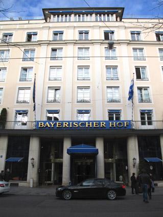 Bayerischer-Hof-Hotel MUNIQUE ALEMANHA