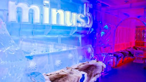 Minus5 Ice Bar Las Vegas