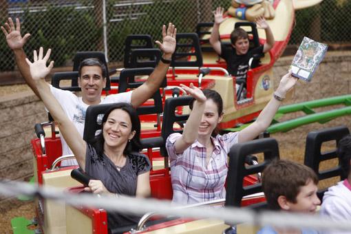 Blogueiros no Busch Gardens