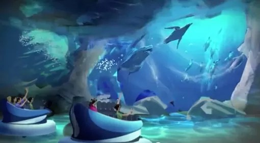 Empire of the penguin SeaWorld