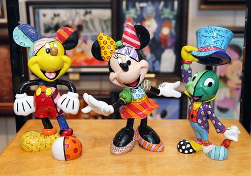Romero Britto Disney