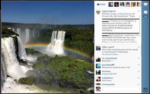 melhor foto instagram