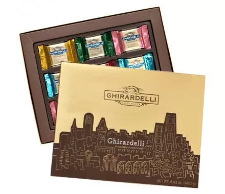 Chocolate Ghirardelli chega ao Brasil