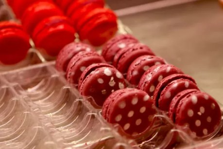 Doces macarrons