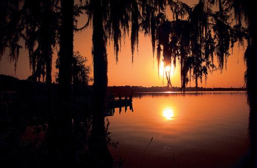 Lago en Kissimmee