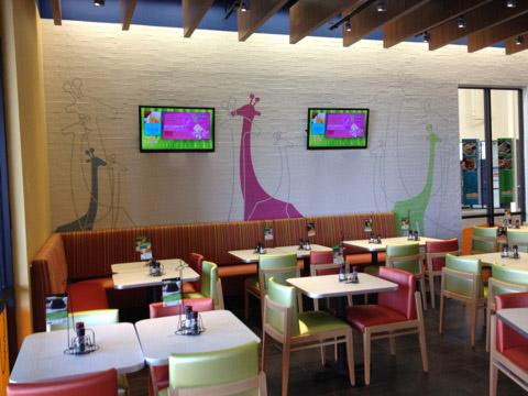 Giraffas em Orlando