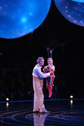 Altas Horas no Cirque du Soleil Crédito: Globo/Zé Paulo Cardeal