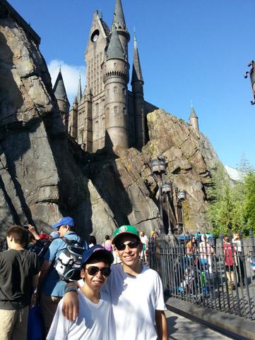 Em frente ao Harry