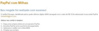 PayPal com Milhas