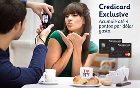 cartões Credicard Exclusive