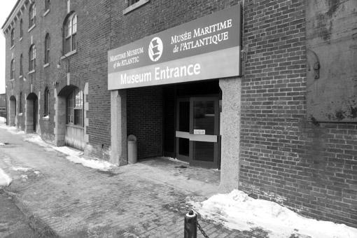 Entrada Museu Maritimo Halifax