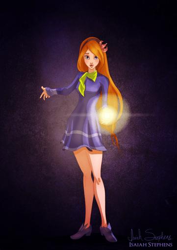 Giselle de Encantada como Daphne de Scooby Doo