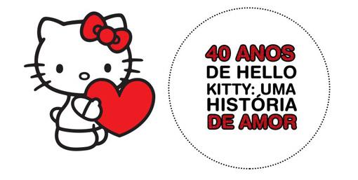 Hello Kitty 40 ano