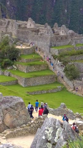 Machu Picchu vertical